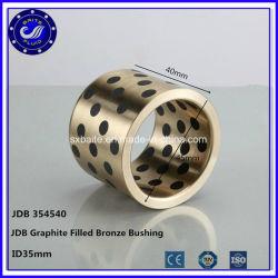 Haute qualité sphérique en laiton Bague en acier lisse sphérique roulement de Bronze