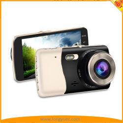 듀얼 렌즈 카 포함 4인치 IPS 스크린 카 블랙 박스 카메라