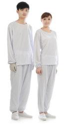 Shanghai Lingtech ESD prenda de ropa interior de tejido antiestático