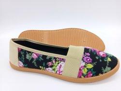 سعر البيع الساخن جيد للنساء أحذية حقن الأحذية أحذية قماش عادية (HP181013)