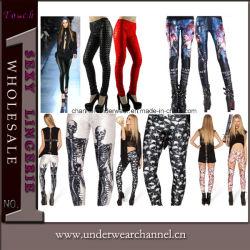 Legging de van uitstekende kwaliteit van de Beenkappen van de Panty van de Broek van de Vrouwen van de Jeans van de Manier (TPFG433)