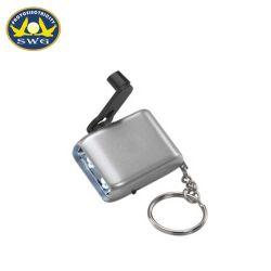 Emergency Handdriven Fackel-Generator-Taschenlampen-Dynamo Keychain Fackel