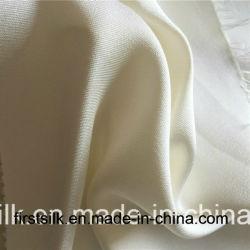 Tissu à armure sergé de laine de soie, laine Silk Blend tissu à armure sergé, de la soie laine tissu à armure sergé mixte