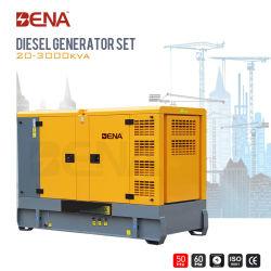 25kVA-1500kVA Silent resfriado a água de alimentação de diesel do gerador elétrico com Motor Cummins