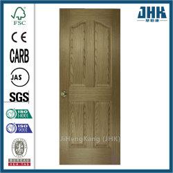 Прозрачный Jhk Maple литые вход MDF деревянные двери из шпона