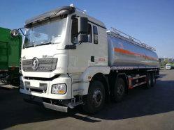 Roues Shacman Shac 12 /l'huile carburant camion citerne 8*4 375HP 30000 litres pour les ventes