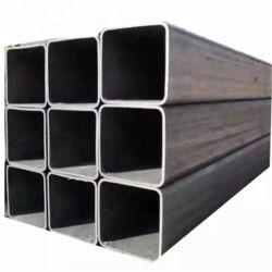40X40X2mm 용접 블랙 카본 스퀘어/사각형 스틸 파이프