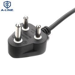Южная Африка 3-контактный кабель питания (AL-217)