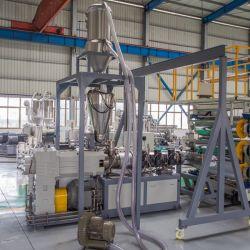 플라스틱 돌출 몰딩 보드 패널 게이트 프레임 루프 보드 합성 PVC 대리석 시트 생산 라인