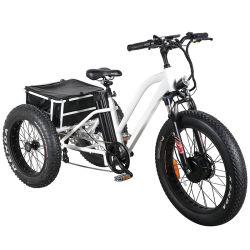 جديدة تصميم إطار العجلة سمين كهربائيّة بالغ درّاجة ثلاثية