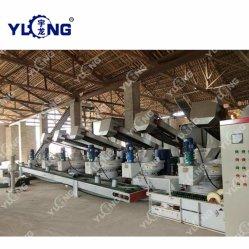 El Aserrín de árboles frutales de prensa de pellet combustible de biomasa que hace la máquina de China Yulong