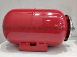 8 Tank van de Uitbreiding van de liter de Rode voor Putten & de Binnenlandse Hete Bescherming van de Druk van de Tank van de Watervoorziening Thermische