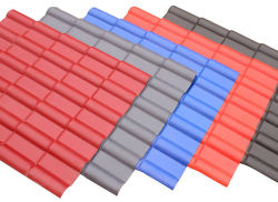 O PVC Telhas/plástico ASA de resina sintética Telha/Novo Material PVC telhas