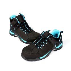 Металлические бесплатно лучшее качество промышленных Ce сертифицирована резиновая подошва мужчин рабочая обувь (SN5780)