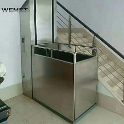 250kg de acero de alta velocidad de elevación de la silla de ruedas, porche, silla de ruedas de elevación de la plataforma elevadora para minusválidos