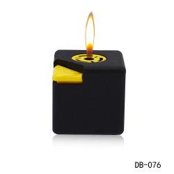 Forme carrée de cube de gaz en plastique réutilisables léger avec de la flamme de la bière pour fumer des cigarettes d'ouvreur