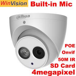 Original Ipc-Hdw Dahua4431em-ase 4MP HD Intérieur Extérieur Dôme Caméra de vidéosurveillance IP de sécurité Poe