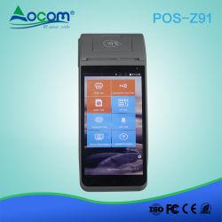 4G 통신망 소형 생물 측정 센서 지문 인조 인간 POS 단말기
