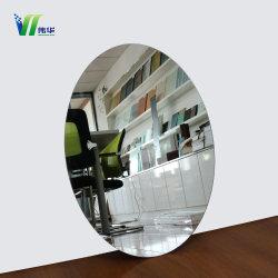 Silver miroir compact, d'argent Feuille de Miroir, miroir encadré d'argent