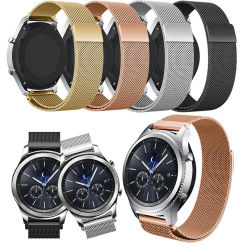 Milanese Metaal verbindt de Slimme Riemen van het Horloge voor het Toestel van Samsung S3 S4 22mm