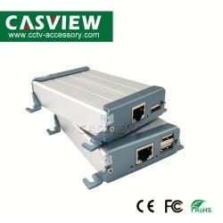 امتداد HDMI لـ KVM عبر كبل Cat5e/CAT6، قم بتمديد إشارة HDMI فائقة الوضوح بالكامل لأكثر من 100 متر عبر كبل Cat فردي تمديد إشارة USB عبر Cat5/Cat5e/CAT6 حتى 400 قدم/قدم