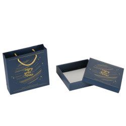 習慣100部分のハンドル袋が付いている装飾的なドアのギフトの紙袋