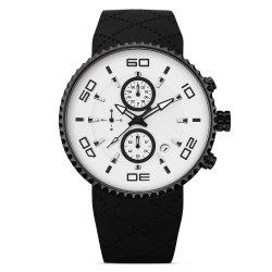 Qualitäts-Silikon-Band-Sport-Uhr-kundenspezifischer Firmenzeichen-Wasser-Beweis beständig