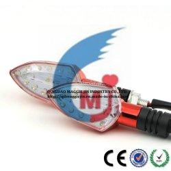 O LED de luz traseira de motocicleta acender a luz da lâmpada Winker