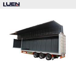 Luen 2021 운송 트레일러 40ft 컨테이너 중부하 작업용 장비 세미 트레일러