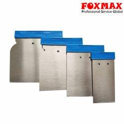 La ruspa spianatrice di plastica della maniglia 4PCS/Set, lama di mastice Polished normale della lamierina del acciaio al carbonio ha impostato (FM-SC15)