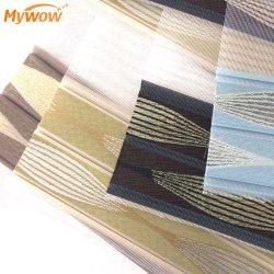 Nova chegada tecido Zebra Persianas de tecido do Rolete de Cortina Windwo Estores de dia e noite