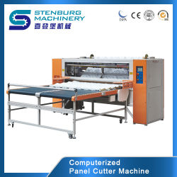 Panel de corte máquina para la industria textil