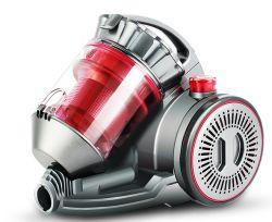 ERP2 がレッドスーパーサイレントサイクロン Bagless 掃除機使用に合格しました 家のためにきれいにしなさい