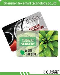 13.56MHz tamanho melhor Imprimir Mf cartão IC inteligente de PVC, RFID cartão inteligente Cartão IC PVC Business cartão IC14443ISO UMA