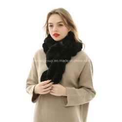 La Chine Fabricant conçu Mesdames Fausse Fourrure à court d'hiver de l'écharpe en acrylique