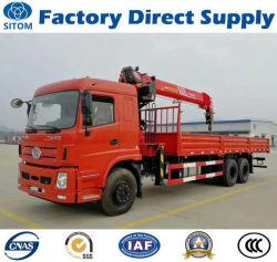 Cr00102 Sitom 6X4 8 Tonnen Kran-LKW-(nicht verwendete Mini-HOWO FAW Sinotruk Foton Dongfeng Sany heben Speicherauszugkipper-Kippertraktor) auf, mit gutem Preis