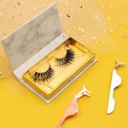 Бесплатный образец клапанный зазор для макияжа оптовой заводская цена оптовой моды Private Label ручной работы пользовательских упаковки природных 3D ложных норки Eyelash