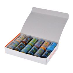 Paquet de mélange de 100 % polyester 40S/2 fils à coudre