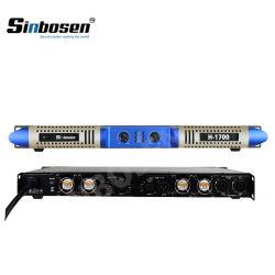 Amplificador de Sonido Sinbosen 2 Ohmios Estable H-1700 Professional Amplificador de Potencia de Audio Digital.