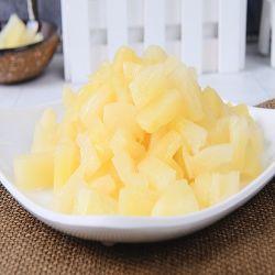Em calda de abacaxi em cubos com a embalagem asséptica 20kg/China