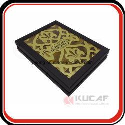 Haut de la qualité du papier de luxe cadeau Case découpé au laser
