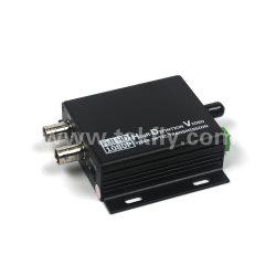 ricetrasmettitore ottico della fibra di risoluzione di 2CH 1080P video