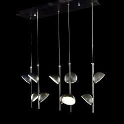 Decorativa de gama alta de acrílico LED lámpara colgante moderno (AQ-66062-5L)