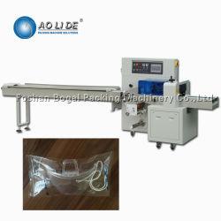 Masque de travail horizontal multifonction de latex et gants de protection de l'emballage de l'équipement de la machine