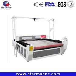 Het Auto Voeden van het broodje met de Scherpe Machine van de Stof van Gerber van de Laser CCD