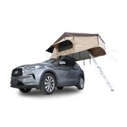 4WD屋外のオフロードキャンプのおおい車の屋上のテント