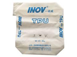 25kg doublés de plastique Sac en papier kraft de l'emballage des produits chimiques de résines