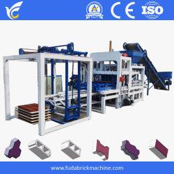 maquinaria de construcción cemento automática máquina de ladrillos de enclavamiento, hormigón bloque hueco de la máquina en Jamaica