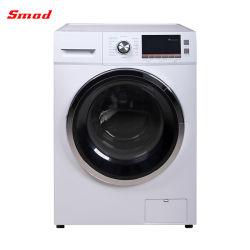 완전히 자동적인 독립 구조로 서있는 정면 선적 세탁기