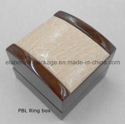 عبوات مجوهرات خشبية مخصصة صندوق الهدايا صندوق التعبئة الخشبية